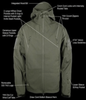 Army Outdoor Military Special Ops Jacket
